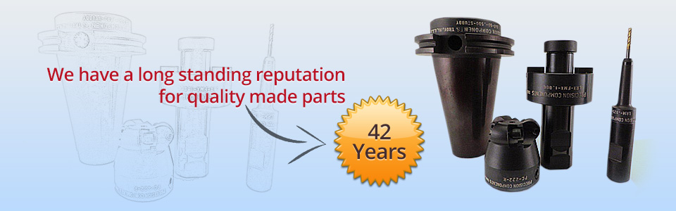 We have a long standing reputation for quality made parts – 42 Years