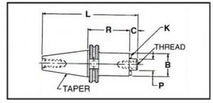 Taper-40-50-CAT-BT